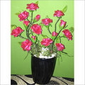 Artificial Flower Pot