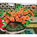 Artificial Flower Plant With Pot