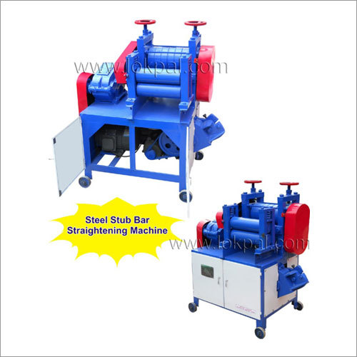 Steel Stub Bar Straightening Machine