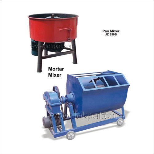 Pan Mixer, Mortar Mixer