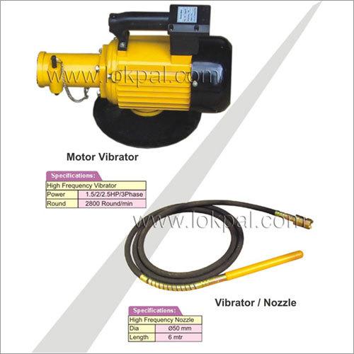Motor - Nozzle - Vibrator