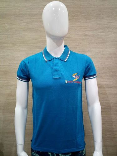 POLO T-SHIRT TURQUOISE (SMART)