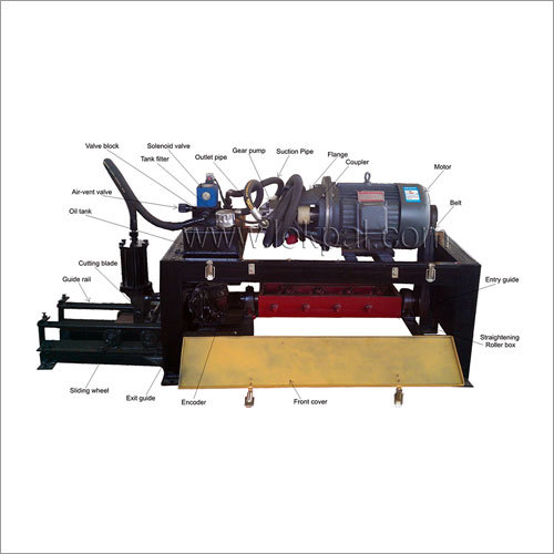 Coil Straightening & Cutting Machine (Programable)