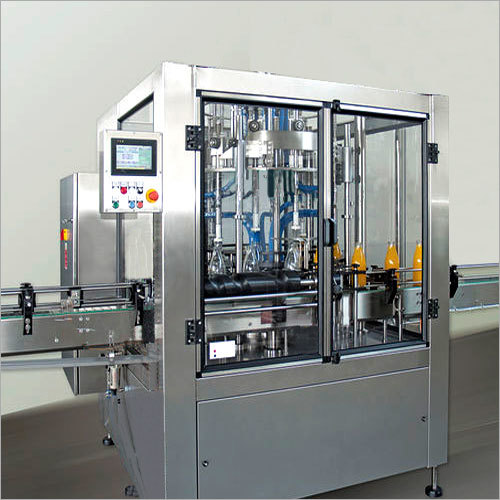 Multi Head Liquid Conveyorised Filling Machine