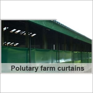 Canvas Poultry Farm Curtain