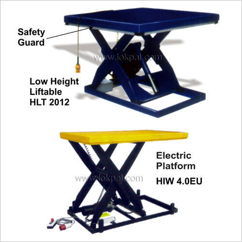 Low Height Electric Lift Table