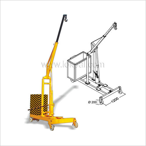 Hydraulic Floor Crane G Type
