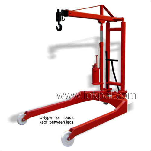 Hydraulic Floor Crane U Type