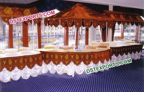 Latest Design Wedding Food Stall Counters