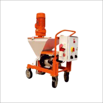 Cement & Gypsum Mortar Sprayer (Wet Mix type)