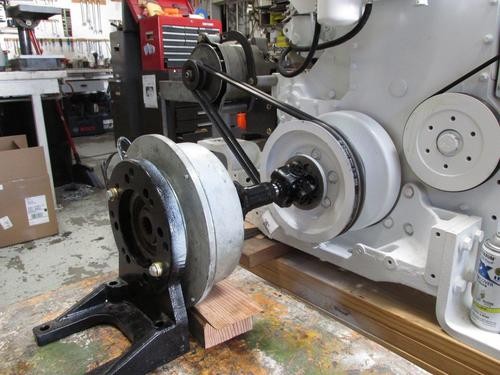 Hydraulic Pump Flanges & Put On Plates