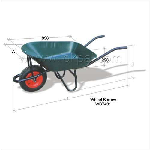 Wheel Barrow Canvas Trolley