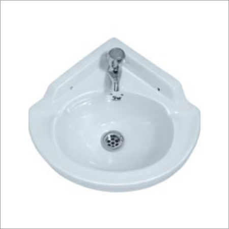 Corner Wash Basin Ceramic