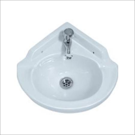 Corner Wash Basin Ceramic