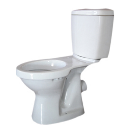 WC Pan Ceramic Cistern With Toilet Seat