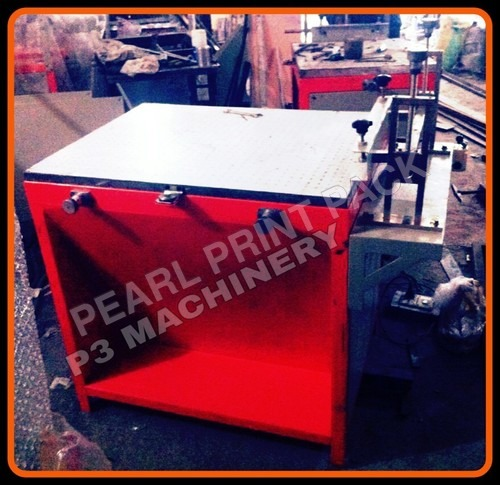 Manual Vacuum Table Printing Machine