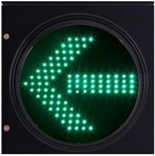 Green Arrow Traffic Signal Light