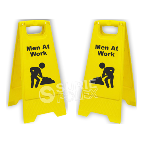 Caution Board-Men At Work