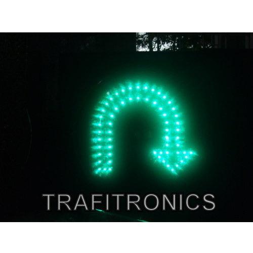 U Turn Traffic Signal Light