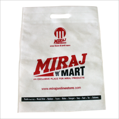 Non Woven D Cut Promotional Bag
