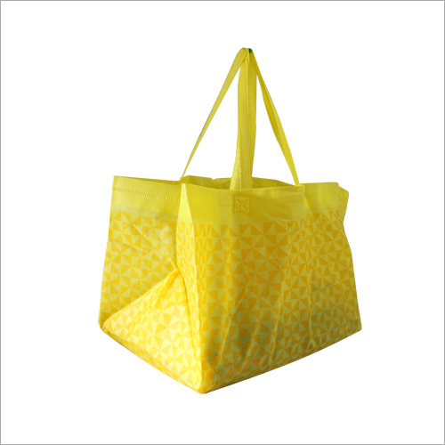 Non Woven Loop Handle Designer Bag