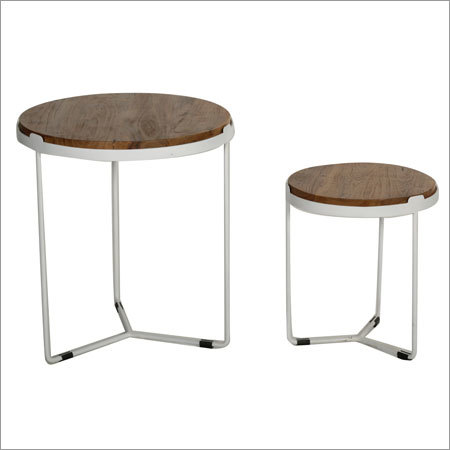 Set of 2 Round Table