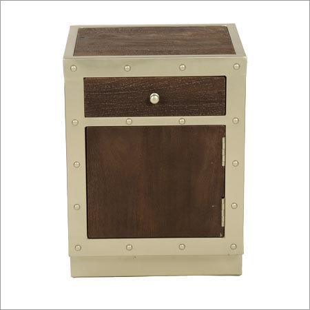 Wooden Bedside Cabinet