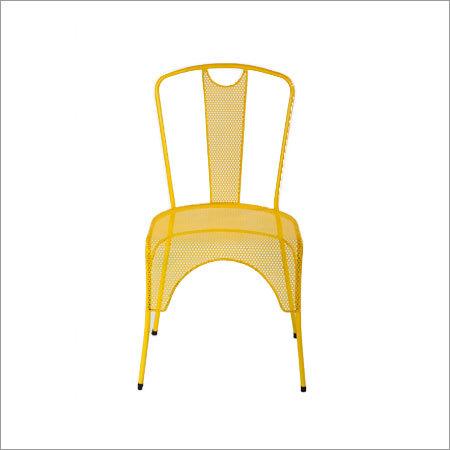 Iron Cross Back Chair
