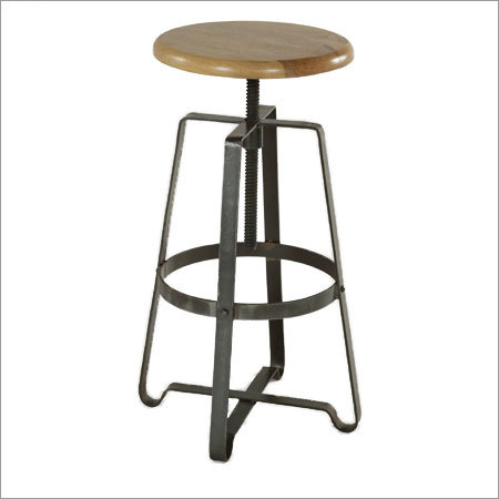 Wrought Iron Round Stools