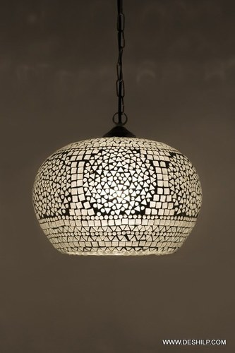 The Brighter mosaic hanging lamp