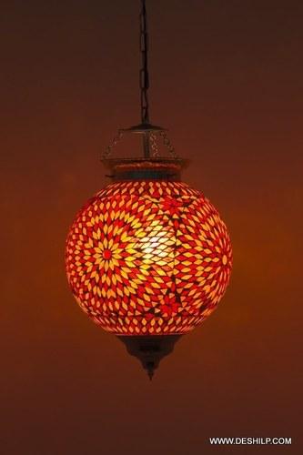 Handmade Mosaic Hanging Lamps For Housewarming