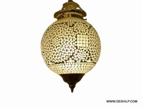 Handmade shade beautiful design Glass Hanging lamp texture and style