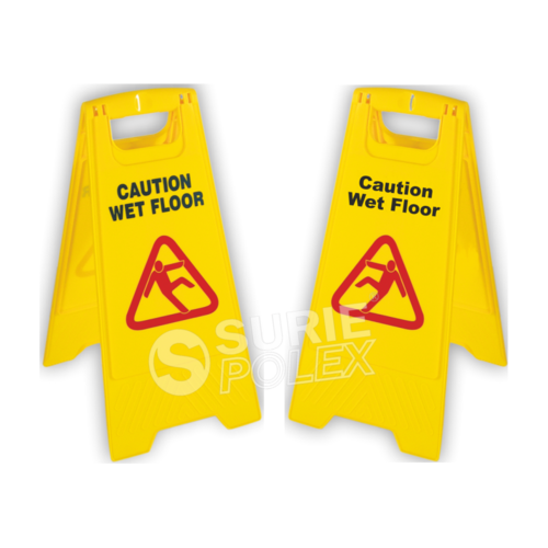 caution board-Wet Floor