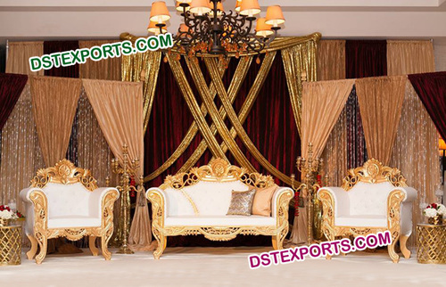 Beautiful Wedding Designer Sofa Set