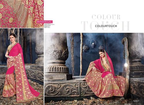 Beautiful Embroidered Designer Saree Online