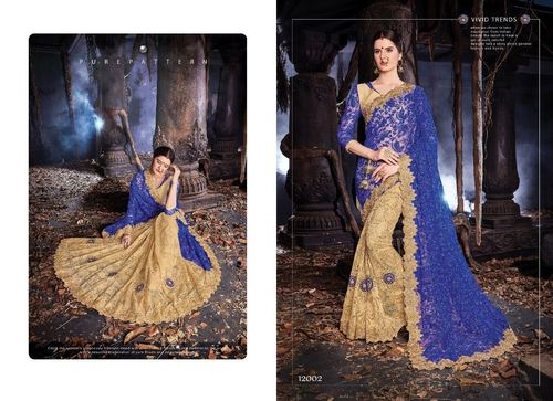 Exclusive Net Designer Saree