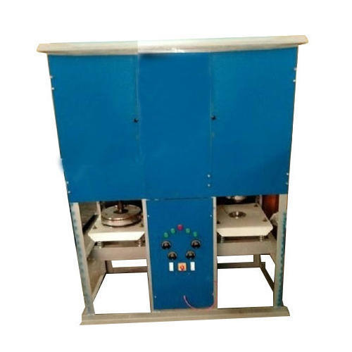 DOUBLE DIE FULLY  AUTOMATIC PAPER DONA,PLATE,THALI MAKING MACHINE