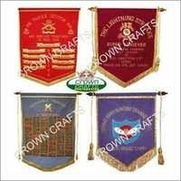 T Flag Embroidery Banner