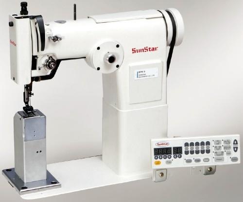 High speed, 1-needle, zigzag, lock stitch sewing machine