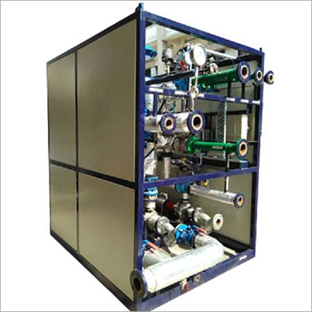Single Fluid Heating Cooling System