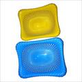 Netted Plastic Fruit Basket