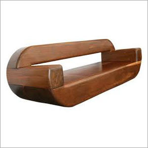 Solid Wood Garden Sofa