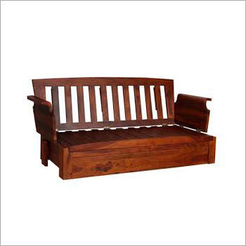Solid Wood Storage Sofa