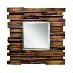 Natural Wood Designer Mirror Frames