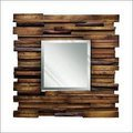 Natural Wood Designer Mirror Frames