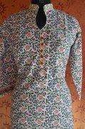 Hand Block Printed Cotton Kurta