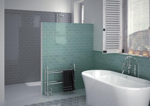 COLOURED CERAMIC WALL TILES