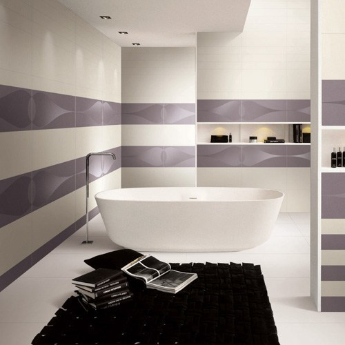 BLACK GLOSS CERAMIC WALL TILE