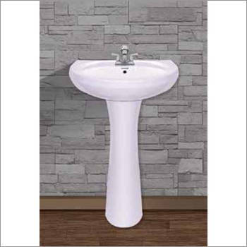 Repose Set Pedestal Wash Basin