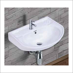 Ceramic Wall Mounted Wash Basin